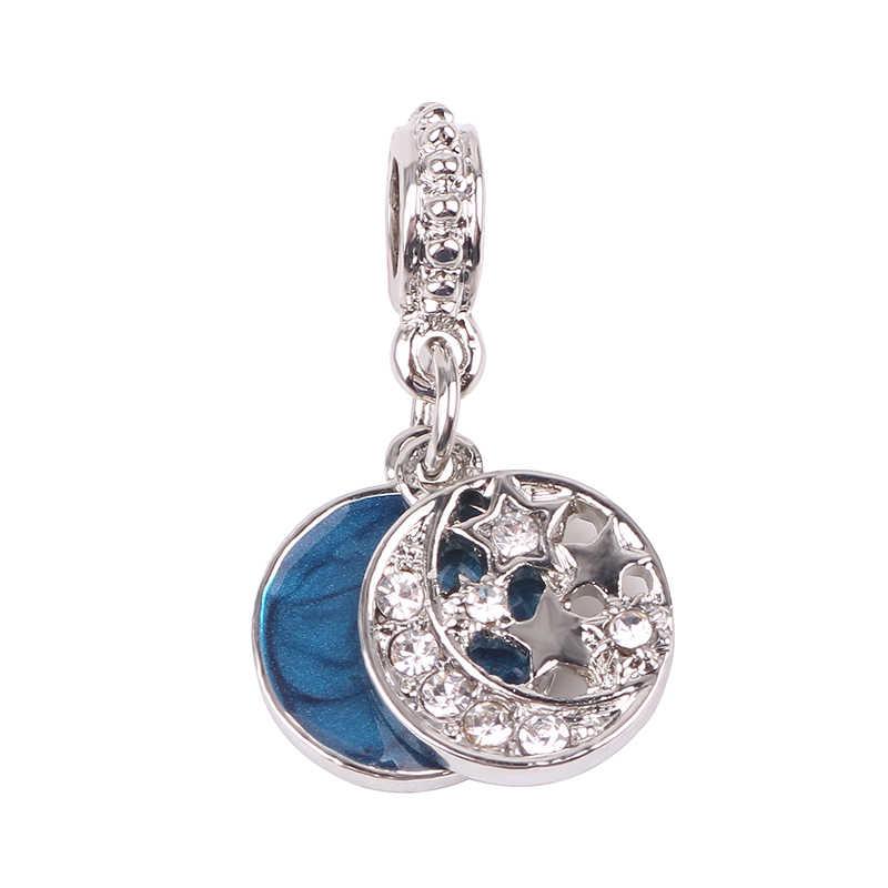 Ranqin Original Hollow Love Balloon Mickey Ear Creative Money Bag Love Letter Fit Pandora Charms Bracelets DIY Pandora Jewerly