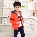 2017 Brand New Boys Fashion Jacket Outwear Cotton Kids Children Teenage Coat High Quality Child Fashion Zipper Hooded Clothes