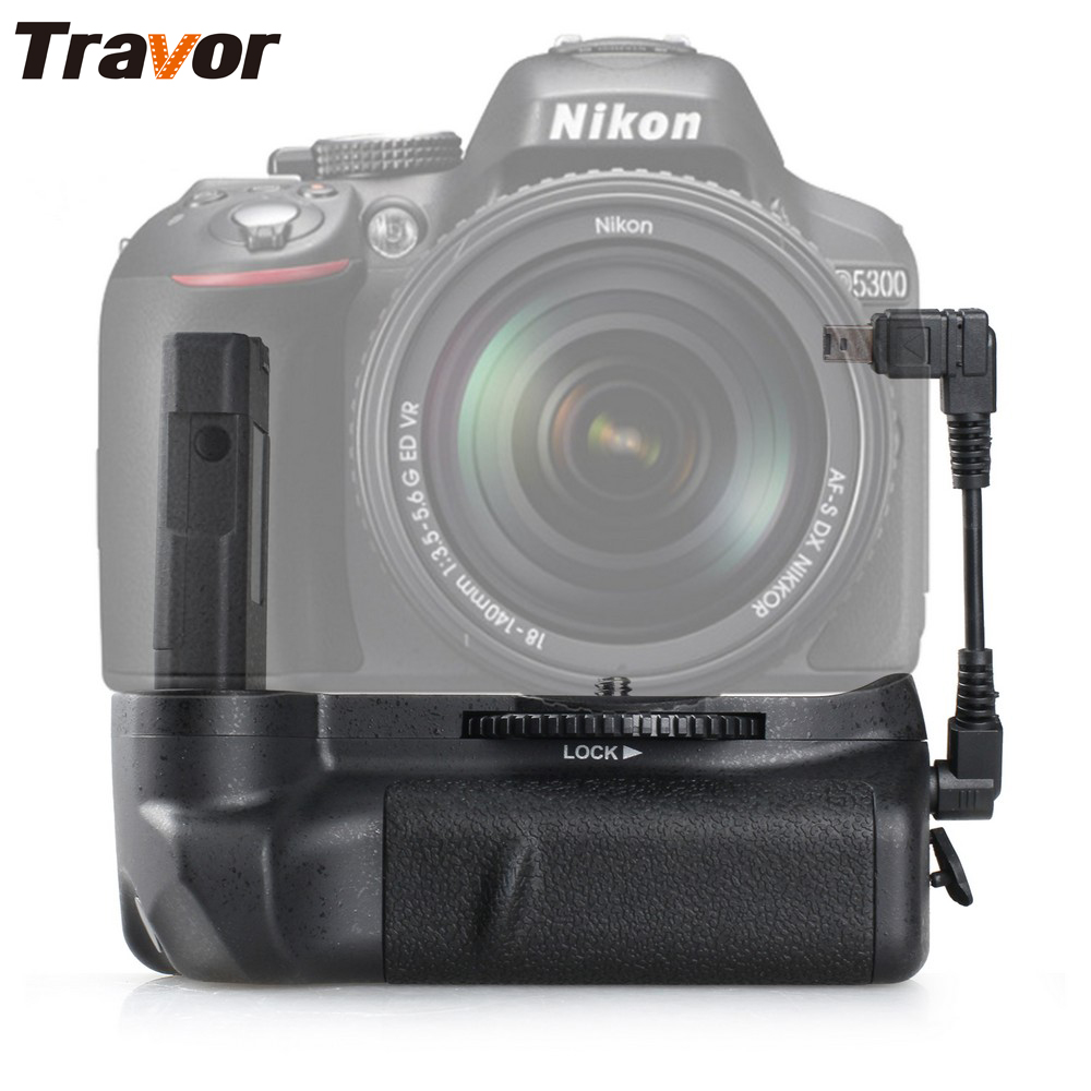 Battery Not Included Battery Grip Replacement for Nikon D5100