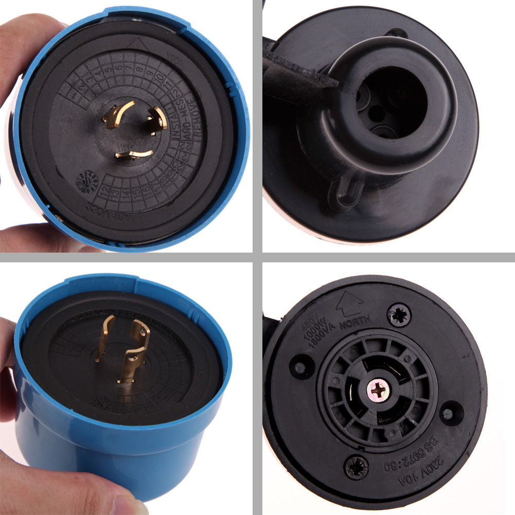 AC105-305V Light Sensor Switch Worldwide Photocell Timer Light Switch Daylight Dusk Till Dawn Auto Light Switch Energy Saving 21