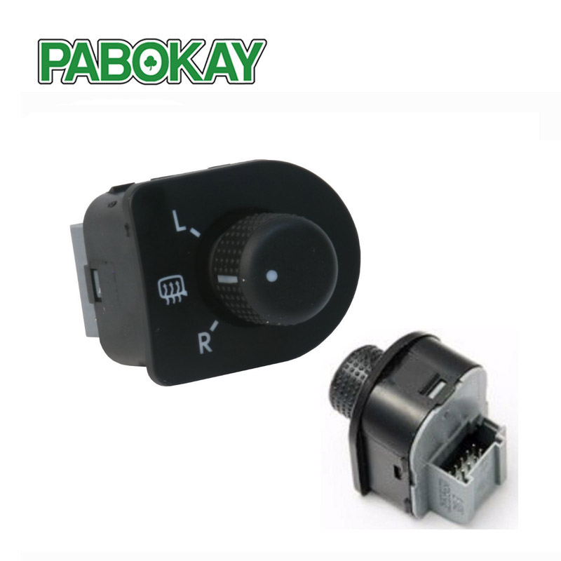 New Side Mirror Switch Knob w/ Heat 1J1959565F For VW /Passat B5/5.5 /Beetle 1998-2006