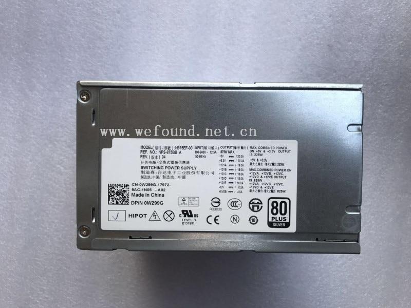 все цены на 100% working power supply For N875EF-00 H875EF-00 NPS-875BB A W299G D875E001L J556T T5400 Fully tested онлайн