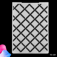 Plastic Embossing Folder Loznge Pattern For DIY Paper Scrapbooking Craft/Card Making Decoration Plastic Embossing Folder стоимость