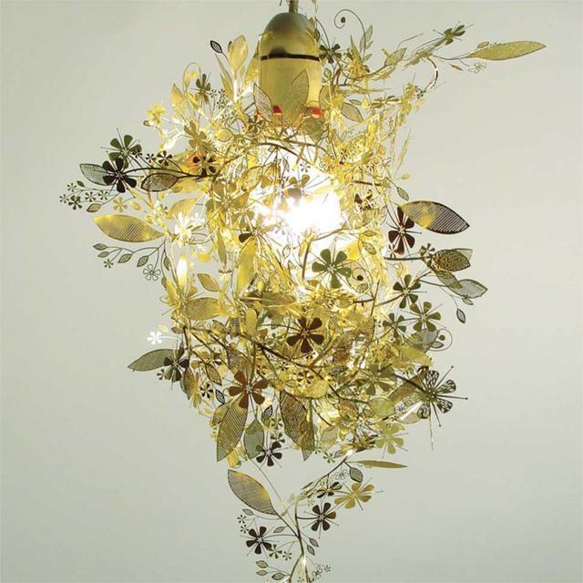 unique diy lighting. Modern Unique Chandelier Simple Leaves DIY Gold/Chrome 40W Shadeless Light Dining Room Loft Diy Lighting