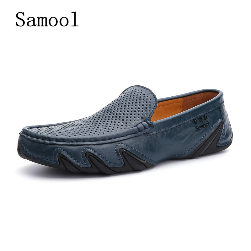 Lazy Loafer Shoes man Slip On cutout breatheable Leather men Genuine leather Casual moccasins Designer Cozy boat driving Shoes branded men s penny loafes casual men s full grain leather emboss crocodile boat shoes slip on breathable moccasin driving shoes