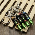 Creative Auto Part Model TEIN Coilover Shock Absorber Keychain Key Chain Ring Car Metal Key Rings 4 Color