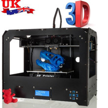 2019 CTC FDM 3D printer Upgraded Full Quality High Precision 2 MK8 Extruders