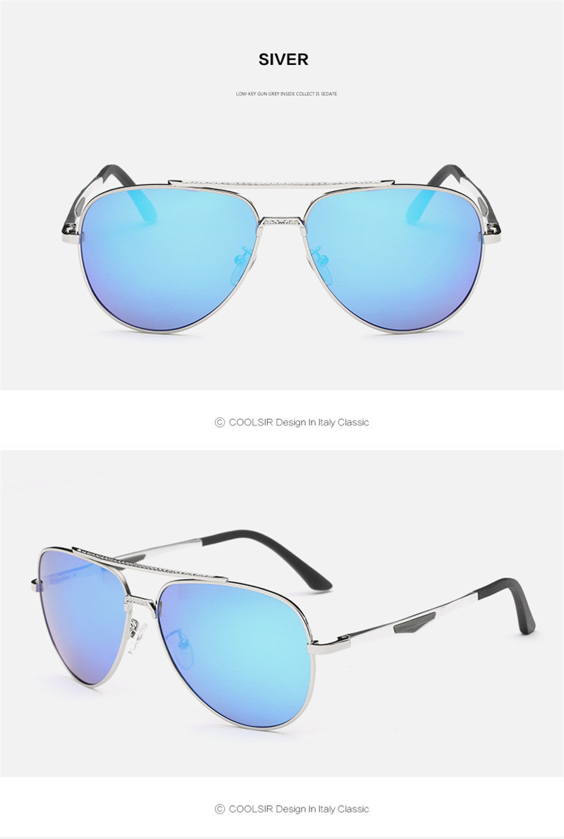 Apparel Accessories Men's Glasses Steady Aviation Metail Frame Quality Oversized Spring Leg Alloy Men Sunglasses Polarized Brand Design Pilot Male Sun Glasses Driving Professional Design