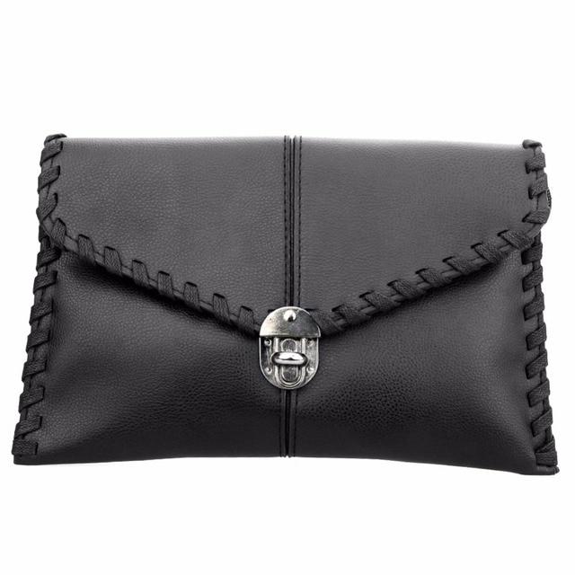 Fashion Korean Women Handbag PU Leather Party Evening Envelope Clutch Bag Ladies Shoulder Bag Women Messenger bag Purse