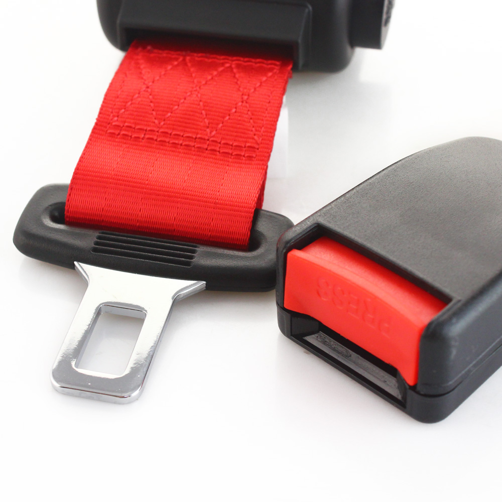 RED Universal 2 Point lap Seat Belt,
