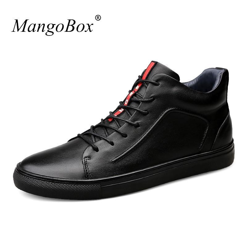 Couro Shoes Calçados High Fur Dentro Quentes Preto Casual Mens black Inverno Genuíno Dos Masculino De Homens Top Sapatos Fashion Black Pele Designer Botas BYwtI