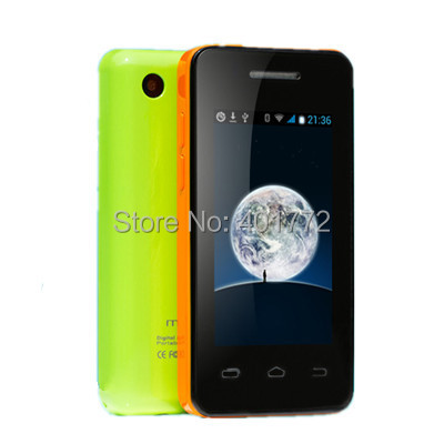 mini Android 4 2 2 MTK6572 1 0GHz Dual Core 512MB 256MB mobile phone touch gsm