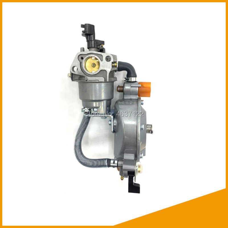 1 مجموعة LPG 168 المكربن المزدوج الوقود LPG نانوغرام تحويل عدة ل 2kw 3kw 168F 170F مولد بنزين المكربن الساخن بيع