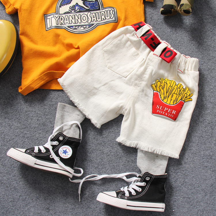 3515433338c only middle pant 1pc new 2018 summer boys fashion cotton Ribbons middle  pant kids cartoon short pant -in Pants from Mother   Kids on Aliexpress.com  ...