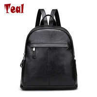 New fashion women backpack pu Leather soft women bag Luxury designer travel backpacks student school Embossed Casual backpack