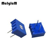 MCIGICM 1000PCS 3386P Potentiometerความแม่นยำปรับความต้านทาน 100 200 500 โอห์ม 1K 2K 5K 10K 20K 50K 100K 200K 500K 1M OHM