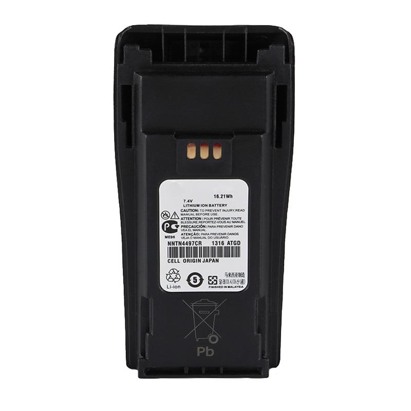 7.4V 2000mAH Li-ion Battery For Motorola Radio GP3688 GP3188 EP450 PR400 CP140 CP150 CP160 CP180 CP200 CP250 Walkie Talkie