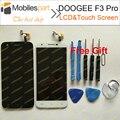 Doogee f3 pro tela lcd de 100% substituição display lcd original + tela de toque para doogee f3 pro smartphone frete grátis
