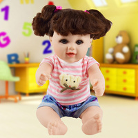 New Design Baby Born Doll Toys For Children Silicone Reborn Alive Babies Lifelike Kids Toys Reborn