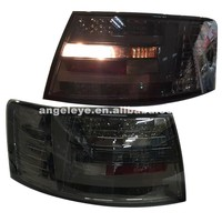 2005-2008 year For Audi for A6L LED Rear light Smoke Black color LF
