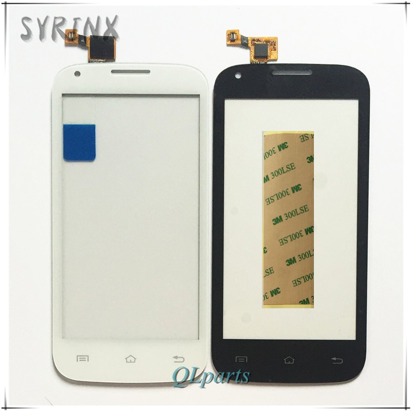 Syrinx + Tape Mobile Phone Touch Panel For Fly IQ4406 IQ 4406 ERA Nano 6 Touch Screen Digitizer Front Glass Sensor Touchscreen