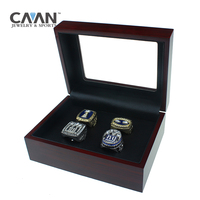 Drop shipping 4Pcs/Set Factory Promotions price Giants 1980 1990 2007 2011 Replica Championship Ring set For New York FANS