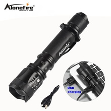 AloneFire TK200 CREE XML L2 LED Flashlight Powerful Flash Light Lamp Waterproof Tactical Military 18650 Rechargeable torch