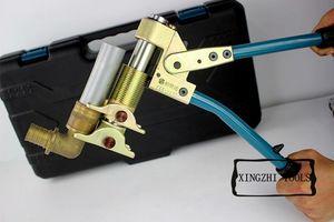 Image 4 - Kit doutils de presse axiale manuelle outil de sertissage de tuyau Pex PEX 1632 16 32mm Rehau eau et gaz avec Compression réflexe