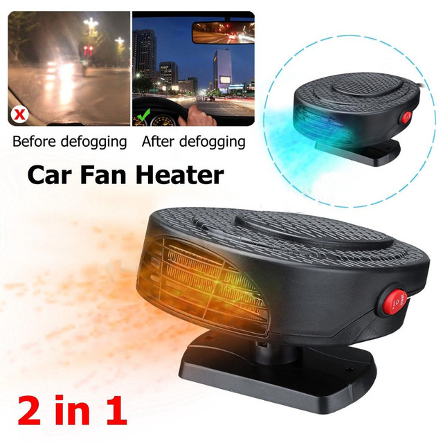 Truck & Car Windshield Defroster Anti Fog Heater Demister 12V Electric Heating