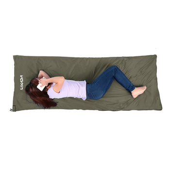 Lixada Camping Sleeping Bag 190 75cm Type Polyester Sleeping Bags Camping With Compression Bag Camping