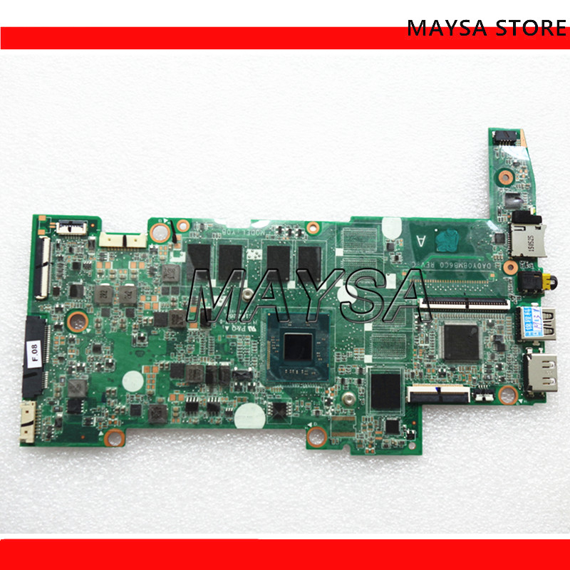 792785-501 792785-001 DA0Y0BMB6C0 UMA w N2840 CPU 2GB 32G eMMC for HP Stream 13-c Series Notebook PC Motherboard image