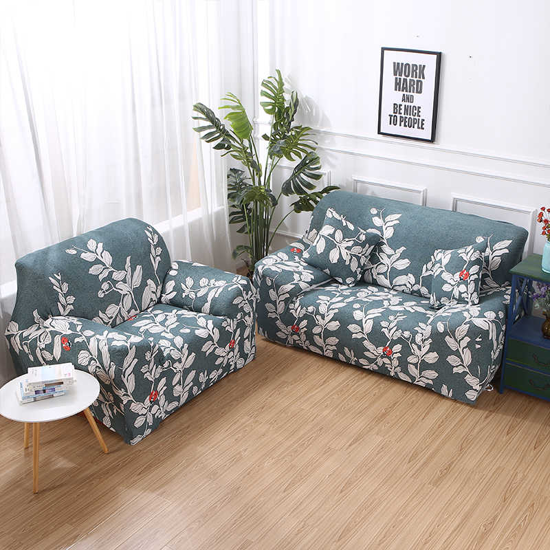 New ethnic style stretch sofa cover large elastic comfortable sofa  furniture set washable modern flower sofa cover
