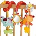 Новорожденный Ребенок Toys 0-12 Месяцев Чучела Toys Животных Детские Коляски Коляски Кровать Висит Развивающие Baby Rattle Toys Погремушки Juguete