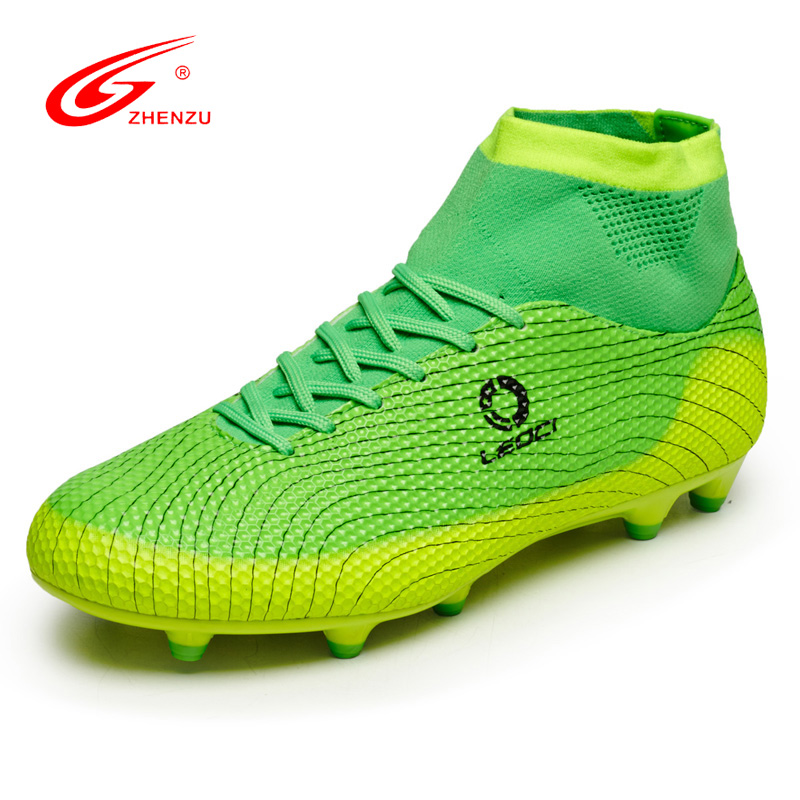 2017 brand new men s high ankle font b football b font boots training soccer shoes