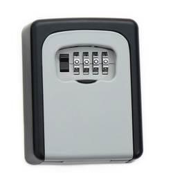 Открытый Сейф ключ коробка для хранения ключей Органайзер с 4 цифрами настенный комбинированный пароль ключи крюк Органайзер коробки