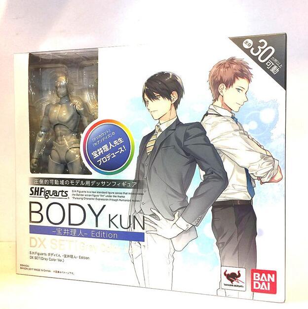 New Original BODY KUN Takarai Rihito BODY CHAN Mange Drawing Action Figure Toy DX BJD Pale PVC Collectible Model(China)