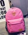 2015 новая женщина рюкзак корейский дамы опрятный женщины мультфильм школьные сумки мода холст mochila эсколар рюкзаки рюкзак