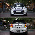 mini cooper car hood and rear bonnet stripe racing decal engine cover sticker decal vinyl graphic for mini cooper