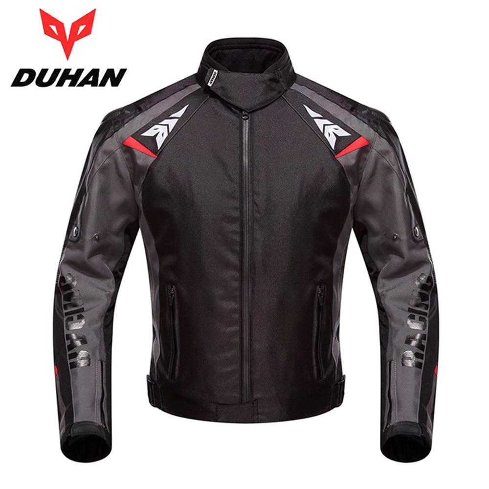 DUHAN Motorcycle Jacket Moto Autumn Winter Waterproof Cold proof Motocross Street Bike Jacket Men Motorbike Riding