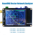 NanoVNA Векторный анализатор цепей 50 кГц-300 МГц антенный анализатор 2,8 дюймов lcd smith MF ВЧ ОВЧ УВЧ с батареей