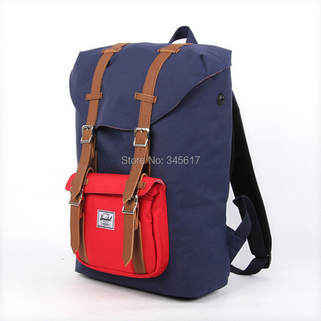 3c878410a9 red and navy color bag fashion backpacks herschel backpack little america  backpack man s travel bags lady s fashion backpacks