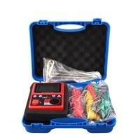 High precision 0 2000 Ohm Digital Earth Ground Voltage Resistance Tester Large Screen Display Megohmmeter Voltmeter