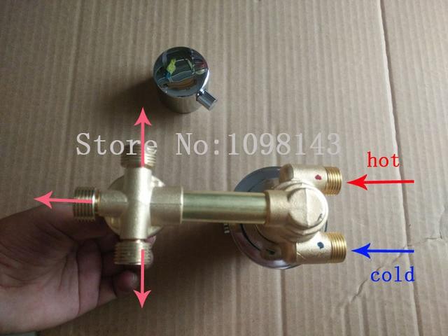 Modi di stile vite rubinetti termostatici vie miscelatore