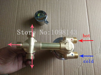 3 Ways Screw Style Thermostatic Faucets , 3/4/5 ways shower mixer thermostatic faucets , Hot cold water shower mixing valve