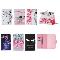 Fashion Painted Flip PU Leather For Samsung Galaxy Tab 4 10 1 T530 Case For Galaxy
