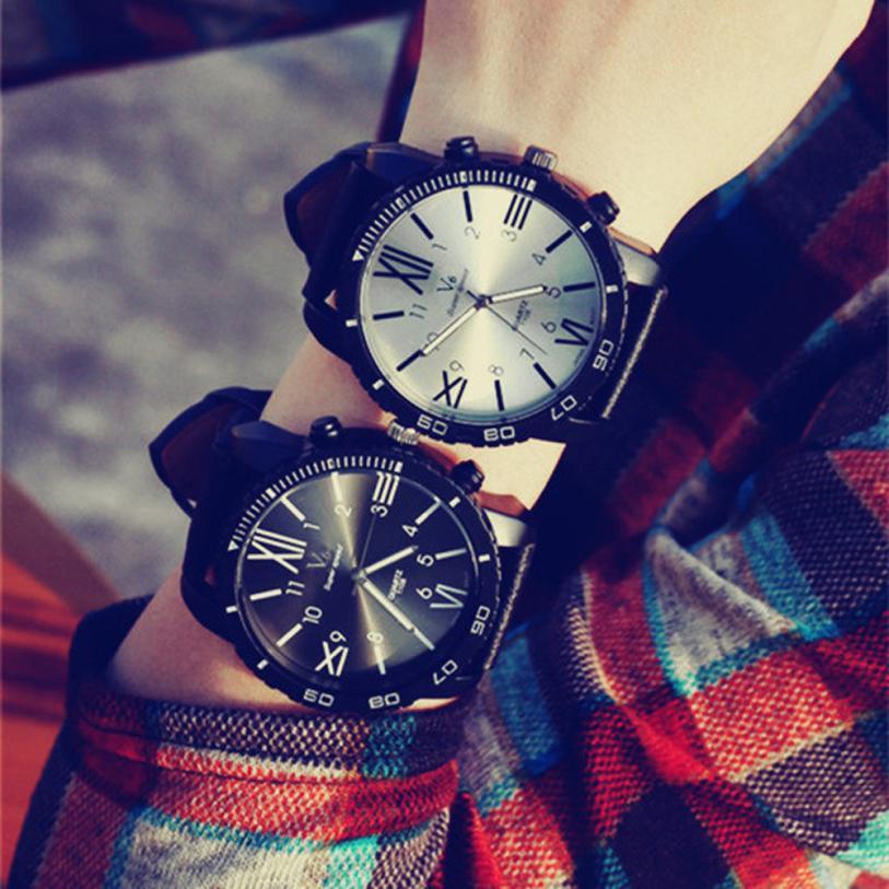 Couple Lovers Watches Women Luxury Brand Big Dial Wristwatch
