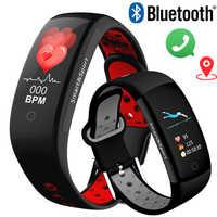 Smart Watch Women Men 3D dynamic UI Intelligent Wearable Fitness Sport Wristband montre femme GPS Camera IOS Android Smartwatch