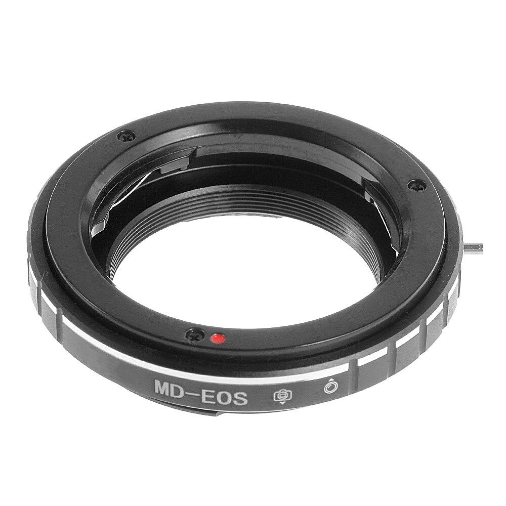 FOTGA AF confirmar adaptador anillo para Minolta MD MC lente a Canon EOS 5D 7D II III 6D 700D Cámara