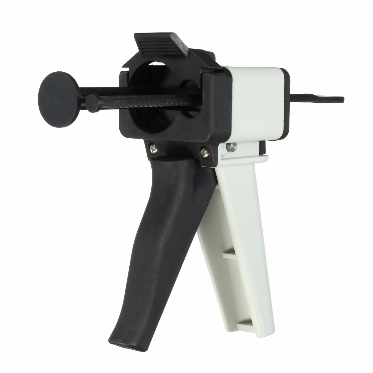 Dental Impressions Mixing Dispensing G Un 10:1 Universal Handgun Silicon Rubber Cartridge Dispenser 50ml Oral Care Material