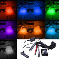 DC 12V 7 Color RGB LED Strip Light SMD 5050 Fita Led String Ribbon Tape Bar